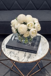 Bixie Colour Waiting Area Table Styling